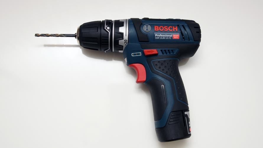 DIYで使用する道具・工具:電動ドリルドライバー