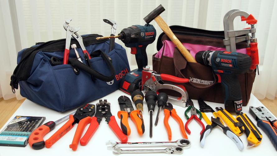 DIYで使用する道具・工具
