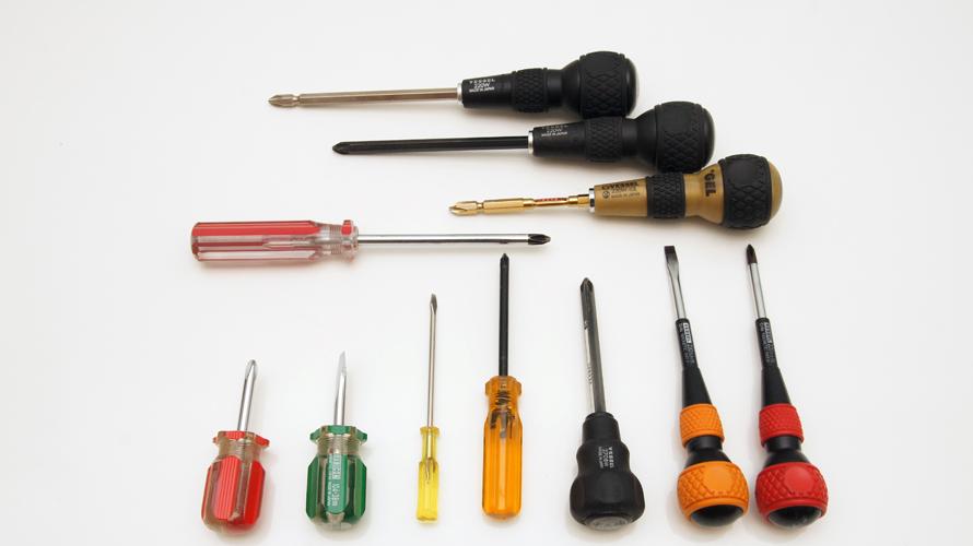 DIYで使用する道具・工具:ドライバー