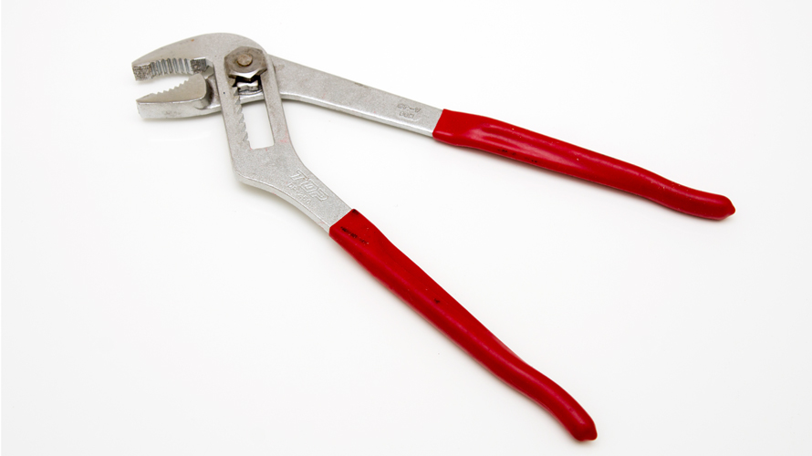 DIYで使用する道具・工具:ウォーターポンププライヤー